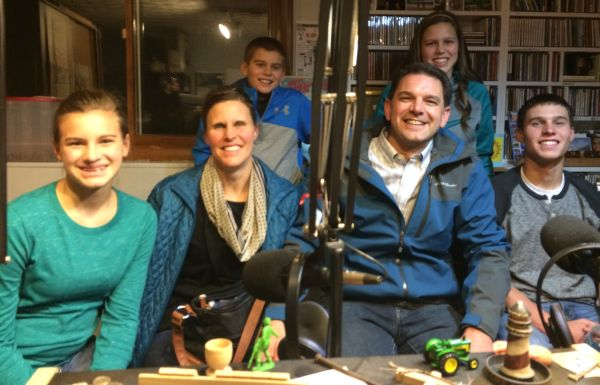Todd & Val, Justin, Abbi, Audrey and Tyler share about their live Nativity production on Dec 18 and 19 at 6-8 pm, for more info call 815-457-2737
